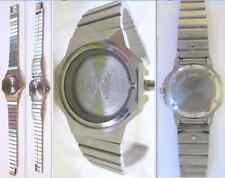 cassa cinturino orologio longines l 111 .2 watch case steel buckle strap band