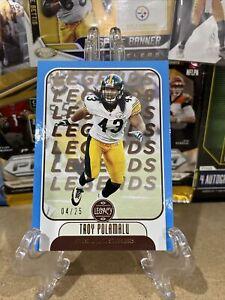 Legacy Legends Troy Polamalu SP /25 Pittsburgh Steelers 🏈🔥