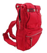 Authentic Belstaff Lady Backpack Baby Bag Red Belflex NWT