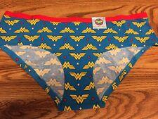NWT DC Comics Wonder Woman Super Hero Womens Cotton Panties Underwear L (7)