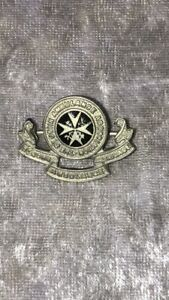 St John Ambulance Brigade,vintage enamel pin badge