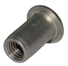 5x inserts à sertir en alu M8 L18.5mm Ф11.1mm écrou rivet