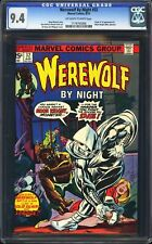 Werewolf By Night #32 CGC 9.4 Marvel 1975 1st Moon Knight! NM! M6 116 cm clean
