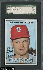 1967 Topps #41 Joe Hoerner St. Louis Cardinals SGC 96 MINT 9