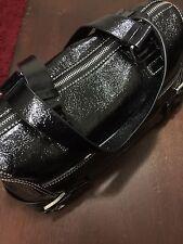 Michael Kors Women Handbag Doctors Bag Black Patent Leather