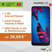 Huawei P20 Handy mit mobilcom-debitel Vertrag 2GB Allnet Flat inkl. 26,99€ mtl.