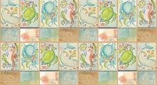 "Blend Mermaid Days by Cori Dantini 112 115 02 1 Just Keep Swimming  24"" Panel"