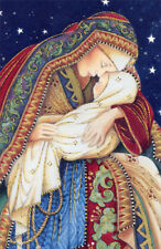 American Greetings Mary and Baby Jesus Box of 14 Religious Christmas Cards
