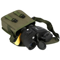 Low Light Vison Binoculars 10X50 Military Marine Tactical w/Rangefinder &Compass