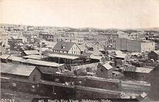Nebraska postcard Holdrege Bird's Eye View