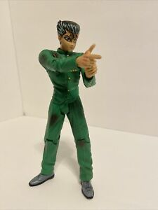 2003 Jakks Pacific Yu Yu Hakusho Ghost Files Yusuke Action Figure Loose RARE