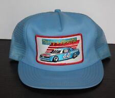 Vintage RACING TERRY LABONTE Patch Peidmont 44 Snapback Trucker Hat Cap Blue USA