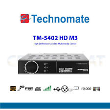 Technomate TM-5402 HD M3 DVB-S2 Full HD 1080p Ricevitore Satellitare LAN USB PVR.