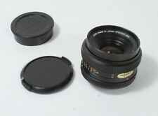 KONICA 28MM F3.5 HEXAR AR MOUNT LENS, CAPS, CASE/152908