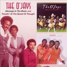 O 'Jays, The-message in the Music + Travelin at the speed of thought CD NUOVO OVP