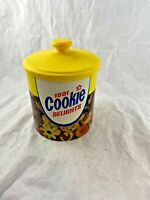 Vintage - 1978 - Cheinco - Domino Sugar - Tin Canister - 1001 Cookie Delights