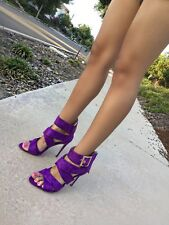Barbara-51 Strappy Open Toe Stiletto Sandals High Heels Dress Womens shoes