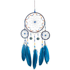 Handmade Dream Catcher With Feathers Wall Hanging Decoration Boho Ornament Gift