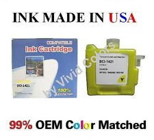 New compatible cartridge for Canon W7200 W8200 W8400 BCI1421 Yellow BCI-1421