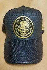 SAN LUIS POTOSI    MEXICO   HAT  PALMA  BLACK SNAP BACK ADJUSTABLE  NEW