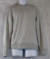 Michael Kors Men's Textured Stripe Hoodie, Gray Heather, Large L