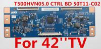 Original AUO T-Con Board T500HVN05.0 CTRL BD 50T11-C02 For 42'' TV