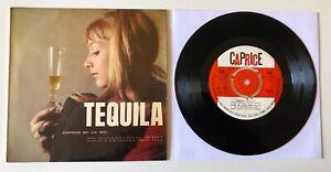 "EP 7"" CAPRICE ITALY 60's EP-CA 103 TEQUILA HENK OLDMAN THE CORWINS MARK STEVENS"