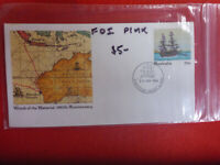 BATAVIA PSE FORTITUDE VALLEY POSTMARK 26 JAN 1984