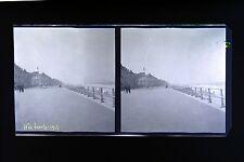 Westend ? Belgique Photo stéréo négatif sur film souple 1913