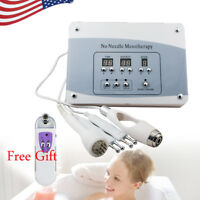 Needless Mesotherapy Facial Microcurrent Face Lift Photon Skin Care Machine+Gift