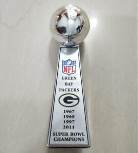 Green Bay Packers Super Bowl Champions VINCE LOMBARDI Trophy 24cm Fans Gift