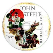 John Steele, Adventurer (OTR) Complete 49 Episodes - Old Time Radio (mp3 CD x 2)