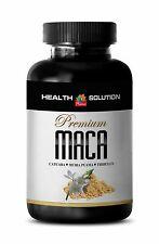 Peruvian Maca Root Extract Powder 1300mg - Mens Sex Enhancer Pills - 1B