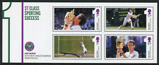 GB 2013 MNH Andy Murray Wimbledon Champion 4v M/S Tennis Sports Stamps