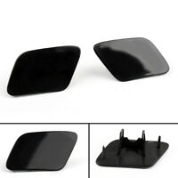 Front Bumper Headlight Washer Jet Cover Cap For Audi A4 B6 Quattro 02-05 L+R A01