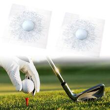 3D  Funny Sticker White Golf Ball Hit Glass Windshield For Car Window-Sticke,uk