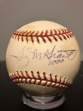 Tug McGraw Signed Baseball 1969 World Series Champs New York Mets PSA DNA