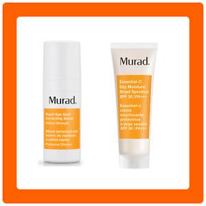 MURAD set. Rapid Age Spot Correcting Serum and Essential-C Day Moisture