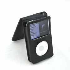 160GB iPod Classic Synthetic PU Leather Flip Case & Belt Clip For Apple iPod