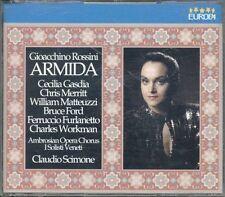Gioachino Rossini - Armida With Lyrics Box 2X Cd Perfetto Spedizione in 48 H