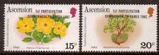 ASCENSION SG326/7 1982 COMMONWEALTH GAMES MNH