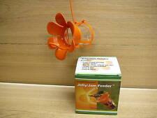 Songbird Essentials Jelly Jam Oriole Bird Feeder w/ Jar & Large Orange Blossom
