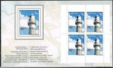 Lettland 685 MH Leuchttürme ** (3546)