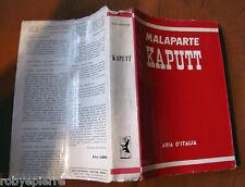 Kaputt Curzio Malaparte Aria d'Italia 1955 Roma Milano vendo se con altri SCONTO