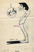 L.TERZIEFF - PORTRAIT/CARICATURE - ORIGINALpar LEBON 68