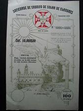Fabrico de Folha de Flandres Lisboa  Lissabon 100er