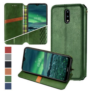 For Nokia 3.4/5.4/1.3/2.3/2.4 Magnetic Flip Stand With Wallet Leather Phone Case