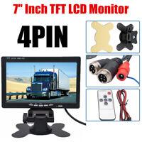 Écran LCD 7 '' TFT Pour moniteur voiture, caméra de recul de recul, vue arrière