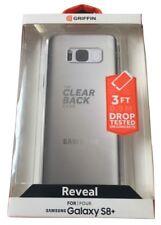Genuino Funda rígida posterior transparente Griffin Reveal Para Samsung Galaxy S8 Plus Nuevo