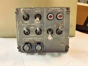 Aircraft Tornado Cockpit Engine Control Panel P917202-407 EX-MOD